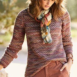 Peruvian Connection • Multicolor Alpaca Sweater